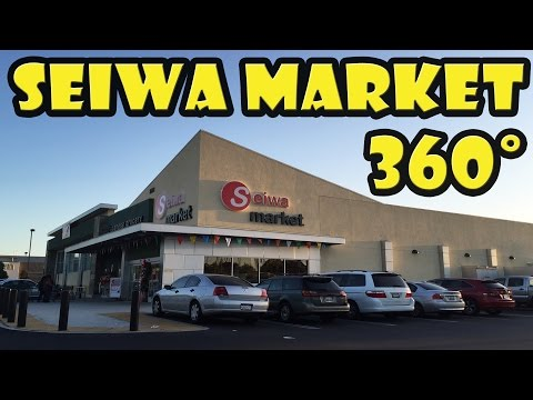 Seiwa Market Japanese Grocery in Costa Mesa California in 360