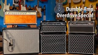 Dumble Amp Overdrive Special 年代別3台を弾き比べる【デジマート DEEPER'S VIEW Vol.01】 thumbnail