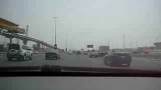 drive on Sheikh Zayed Road 2008 (Dubai)