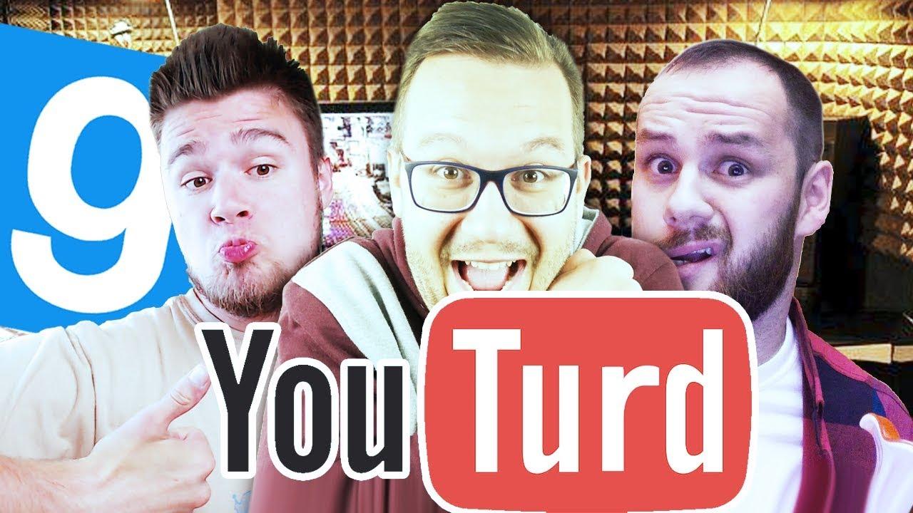 YOUTURD! | Garry's mod (With: Ignacy, Plaga, Diabeuu, Admiros) #699 – Prop Hunt [#118]