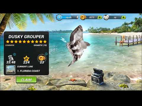 Florida 5 bosses in Fishing Clash Game