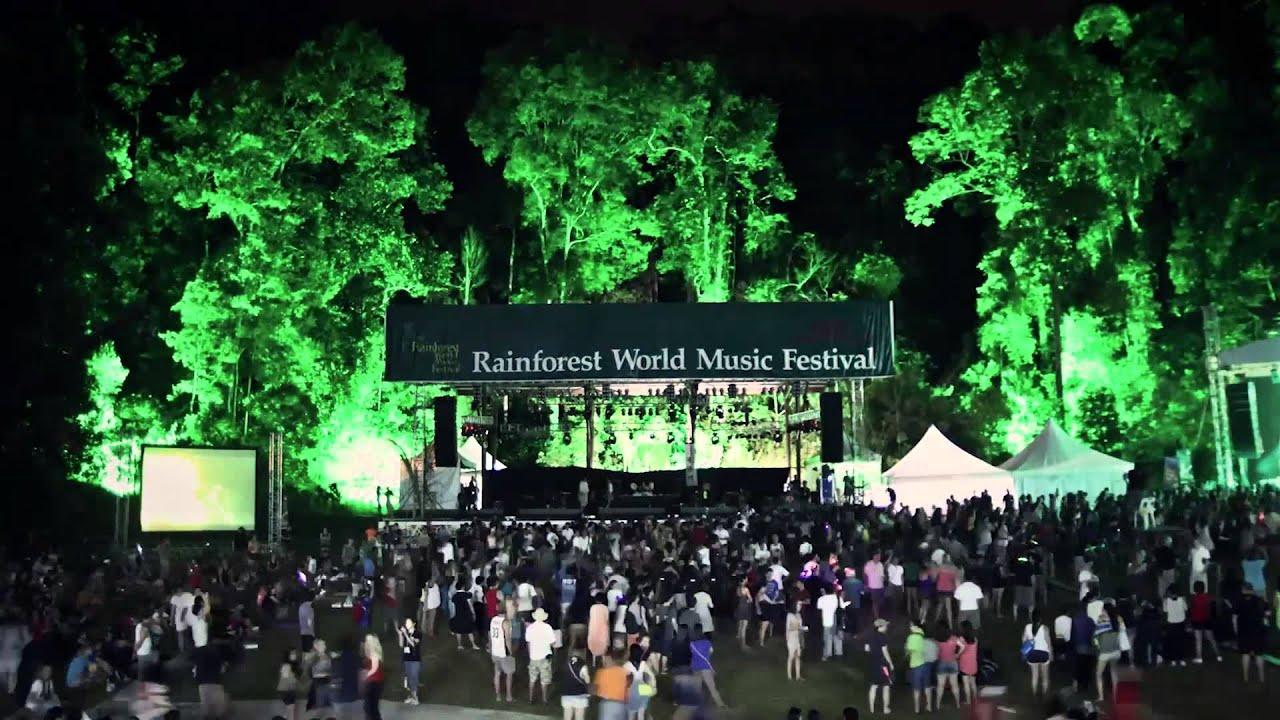 The Rainforest World Music Festival 2013 Main Stage Timelapse Youtube