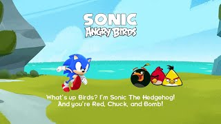 Sonic The Hedgehog and Angry Birds