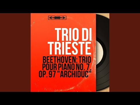 "Piano Trio in B-Flat Major, Op. 97 ""Archduke"": IV. Allegro moderato"