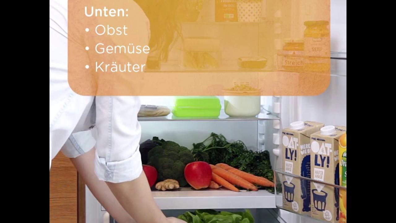 Side By Side Kühlschrank Einräumen : Wie man den kühlschrank einräumen sollte youtube