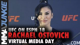 Rachael Ostovich: 'This could be my last fight' with loss | UFC on ESPN 18 full interview