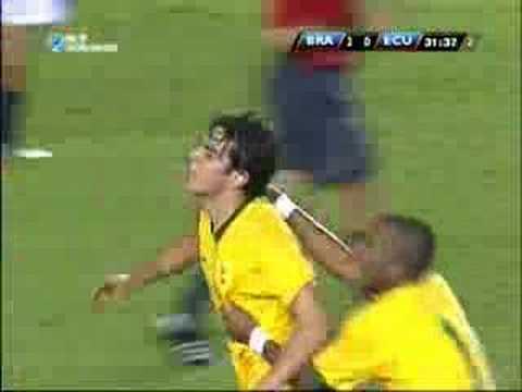 2010 World Cup South America: Brazil vs Ecuador
