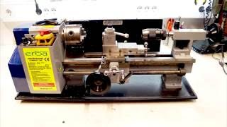 How to make mini lathe 7x10 runs smooth and solid - ways - rails - impovement
