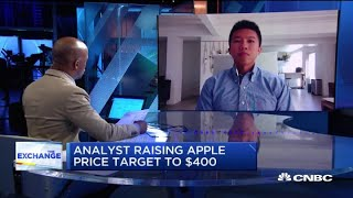 Deutsche Bank's Jeriel Ong on why he raised Apple's price target to $400 per share