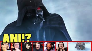 Reactors Reaction To Seeing The Legendary DARTH VADER In Star Wars The Clone Wars | Mixed Reactions