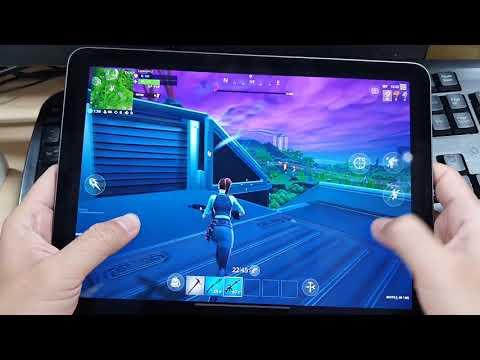 Test Game Fortnite On Apple IPad Pro 2018
