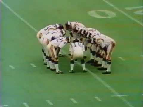 1972 Vikings vs Steelers CBS Original Broadcast