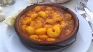 Gambas Pil Pil Spezialität Aus Andalusien Südspanien