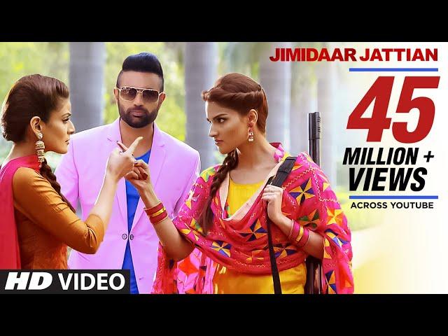 Gagan Kokri: Jimidaar Jattian FULL VIDEO   Preet Hundal   Latest Punjabi Song 2016
