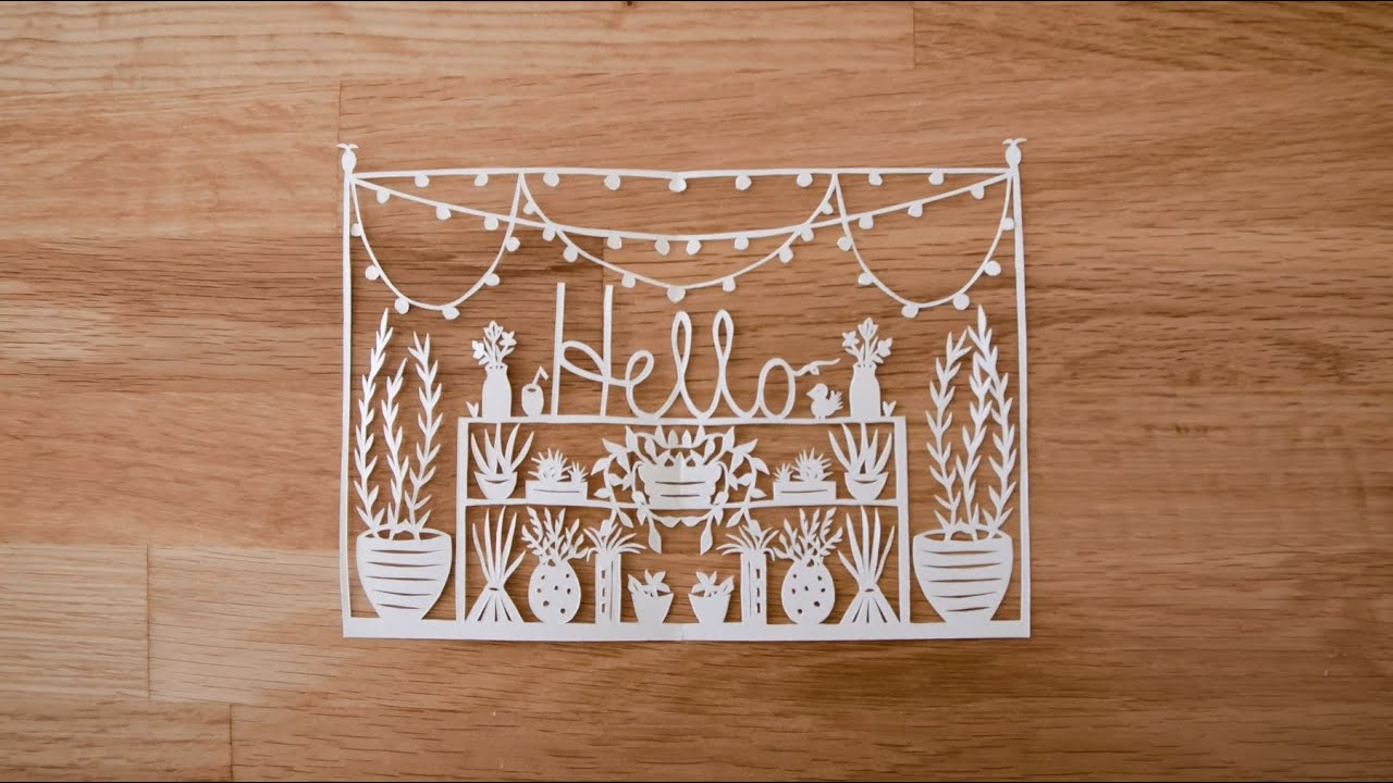 paper cutting introduction to paper cutting with grace hart part