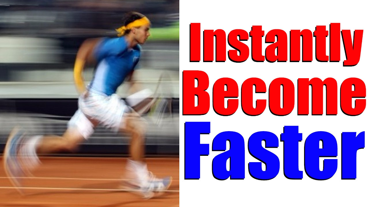how to run faster instantly