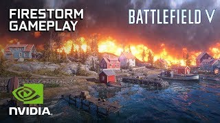 Battlefield V: Firestorm (Battle Royale) GeForce RTX PC Gameplay