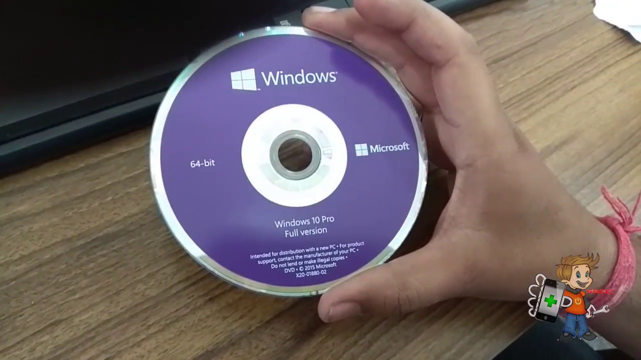 How to install Microsoft Windows 10 32/64 Bit Complete Setup with DVD or  USB/ Flash Drive Activate