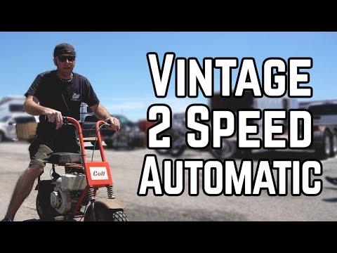 We Bought a Rare 2 Speed Mini Bike! | Swap Meet Build Off Pt