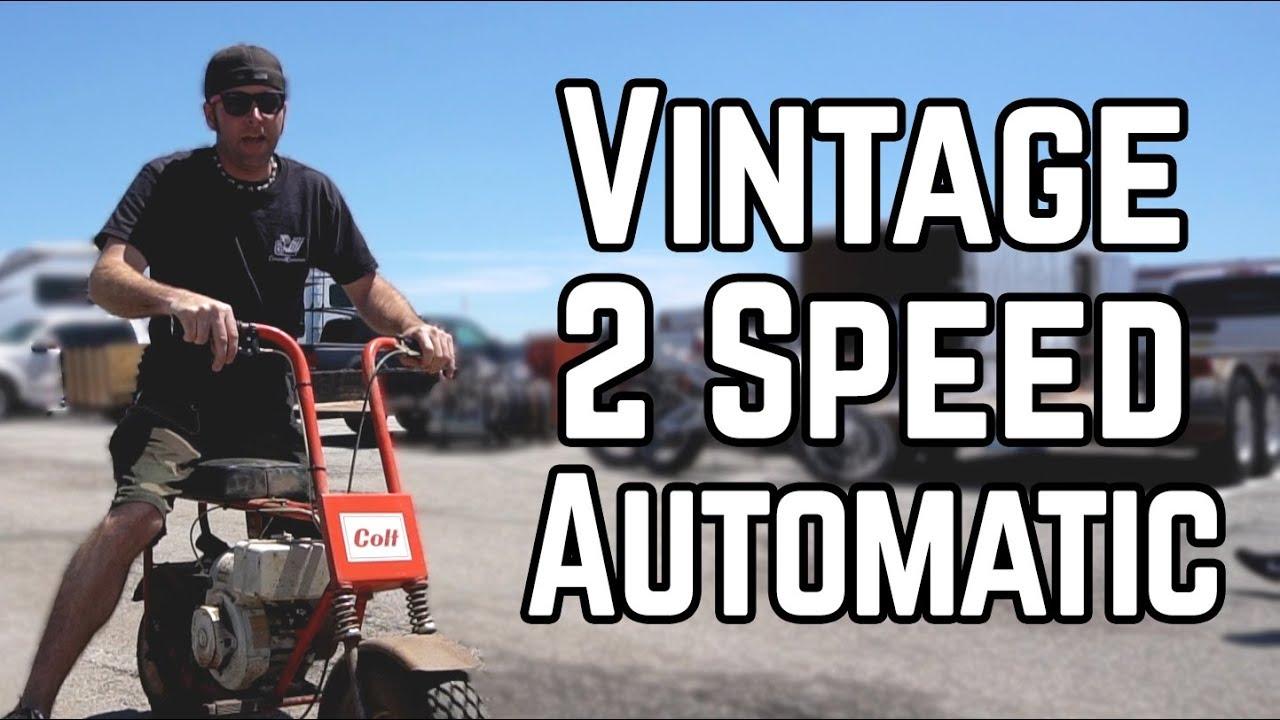 We Bought a Rare 2 Speed Mini Bike! | Swap Meet Build Off Pt  1