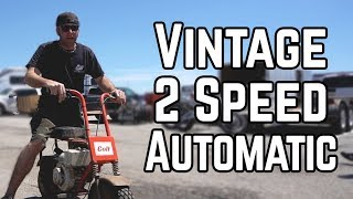 We Bought a Rare 2 Speed Mini Bike! | Swap Meet Build Off Pt. 1