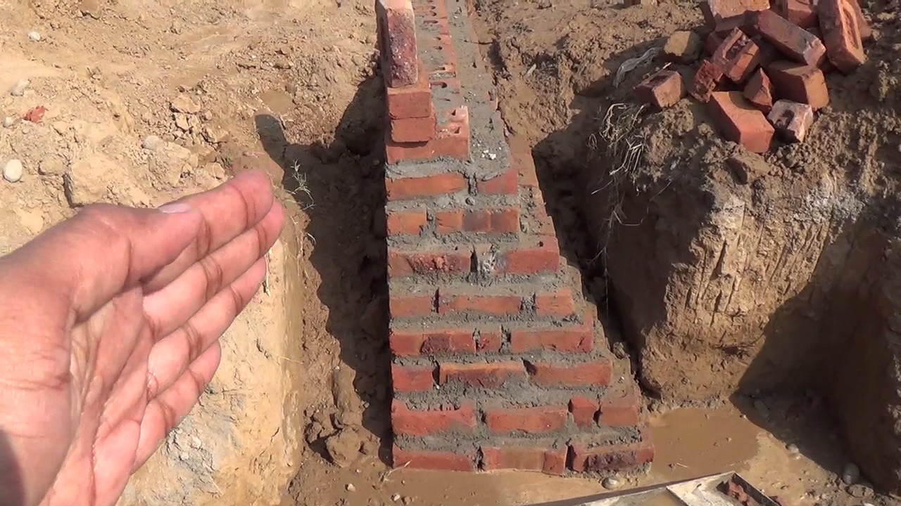 Building Foundation Types In House Construction Hindi