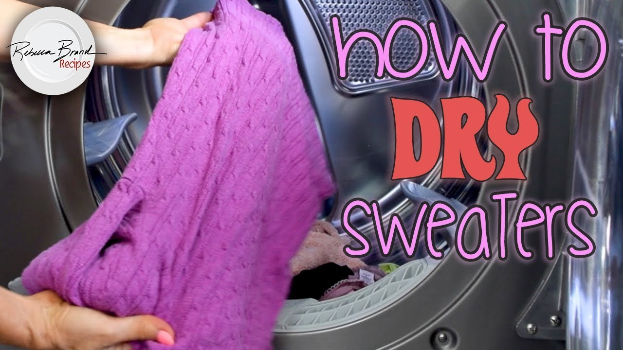 how to wash and dry sweaters wool cashmere delicates laundry basics youtube. Black Bedroom Furniture Sets. Home Design Ideas