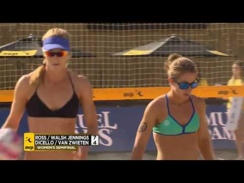 AVP Huntington Beach Open 2016 Women's Semi-Finals: Both Matches