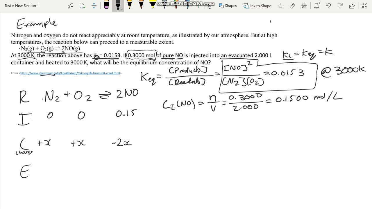 Module 5 Type 3 Equilibrium Calculations