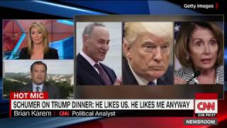 Schumer caught talking about meeting with Trump and Pelosi