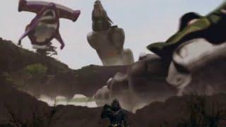 Power Ranger Fuerza Salvaje | Rangers vs Zen-Aku round 2 - Batalla contra los dark wild zords