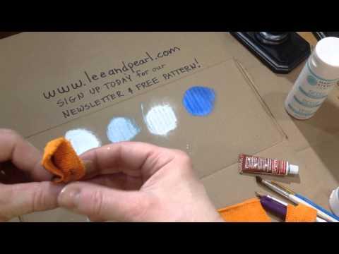 Turning Cardboard into Metal: Lee & Pearl Doll DIY Tutorial