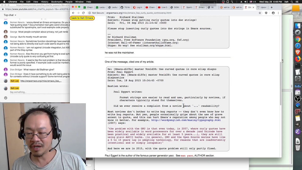 Xah Emacs Blog