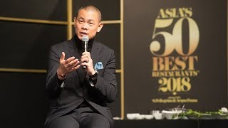 #50BestTalks Asia 2018: highlights featuring Andre Chiang