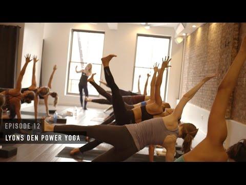 SweatLifeNYC Episode 12: Lyons Den Power Yoga - YouTube