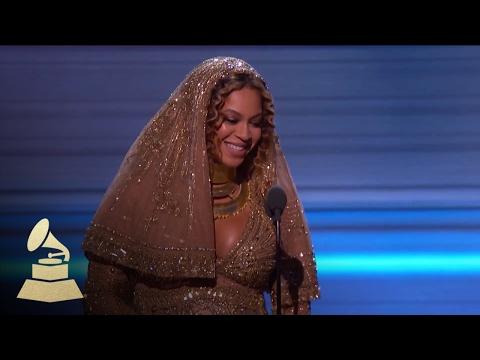 Beyoncé Wins Best Urban Contemporary Album | Acceptance Speech | 59th GRAMMYs