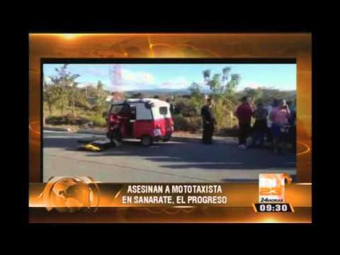 Asesinan a mototaxista en Sanarate, El Progreso