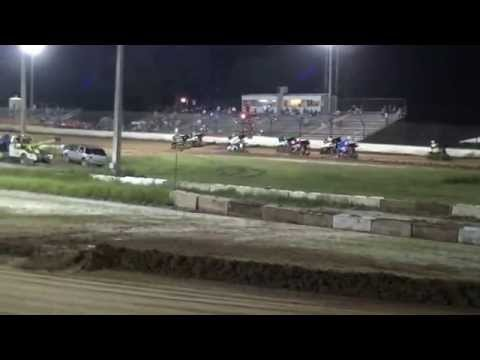 Putnam County Speedway FMSA Mini Sprint Car Racing 9 19 15