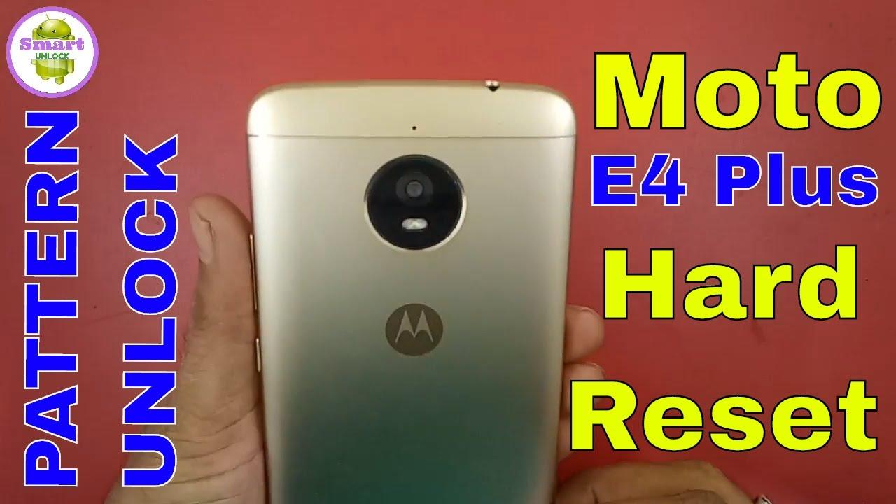 Motorola Moto E4 Plus Unlock Videos - Waoweo