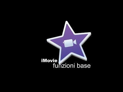 iMovie per Mac -  Tutorial - funzioni base -  creare ed esportare un video in HD