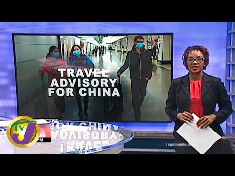 TVJ News: Gov't Issues Travel Advisory For China - January 28 2020