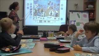 Learning Stars 1: Фрагметы урока по теме School