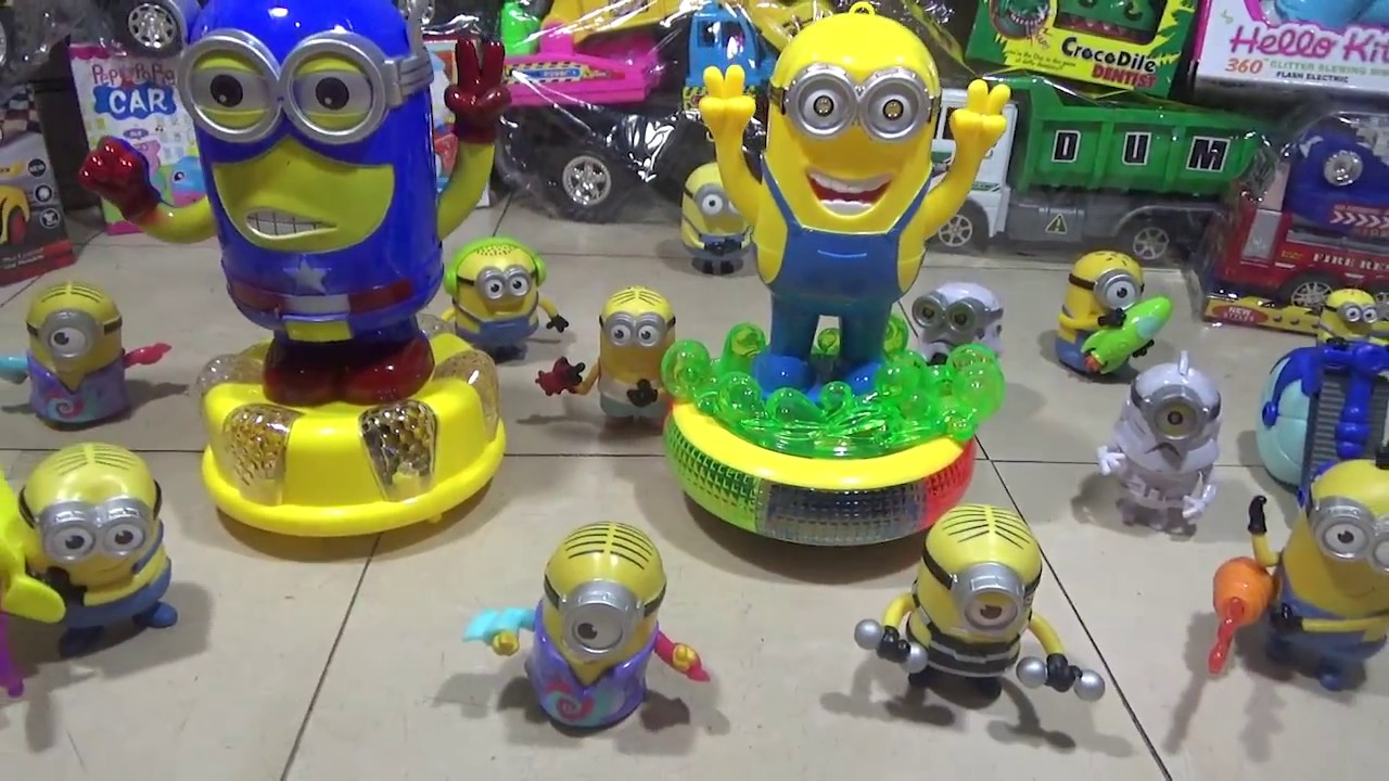 Big Minions Light Up Toys With Flashing Lights With Lots