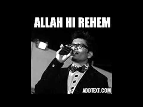 Allah Hi Rahem - Rashid Khan | Shankar - Ehsaan - Loy | Cover By Kapil Tamane