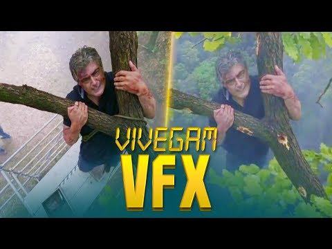 Vivegam VFX Making