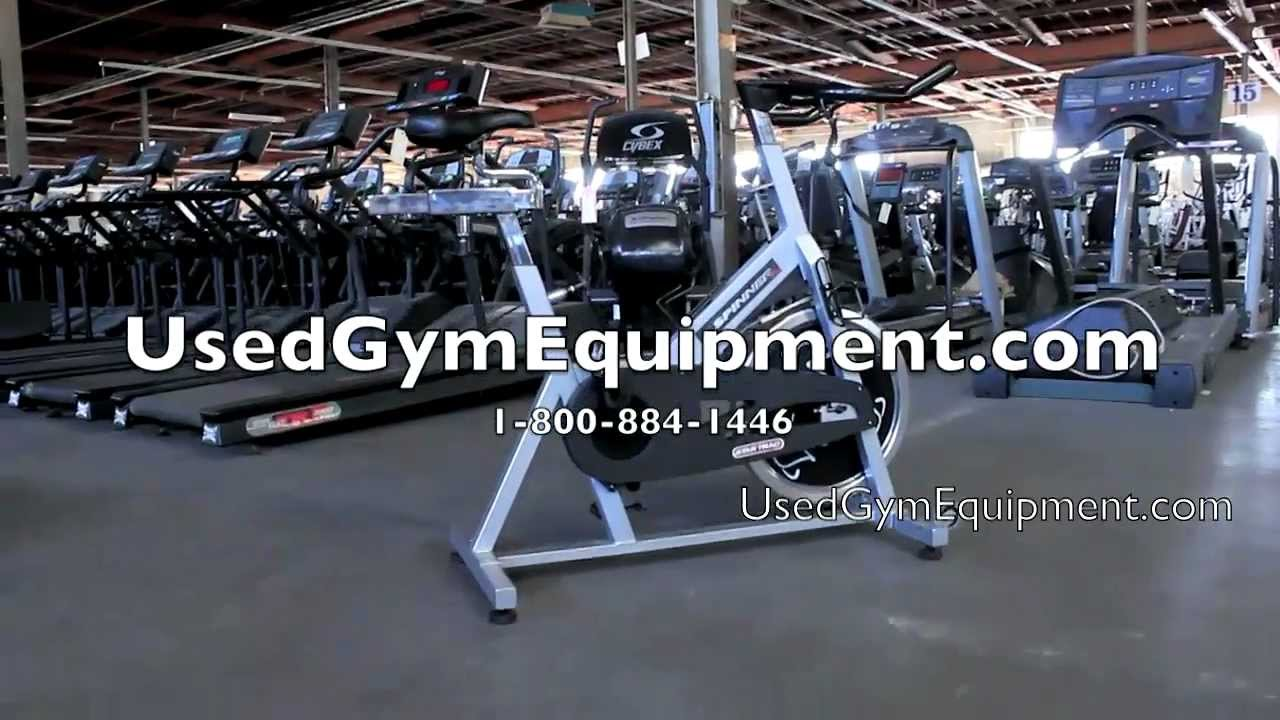 used star trac pro johnny g spin bikes refurbished for sale youtube. Black Bedroom Furniture Sets. Home Design Ideas