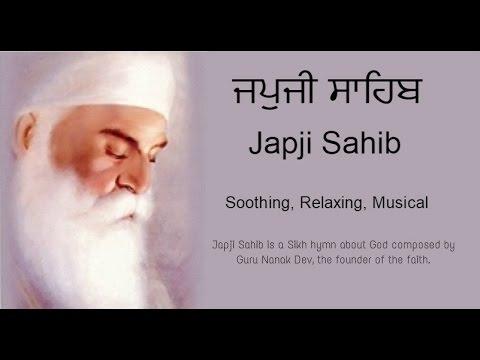 Japji Sahib Full Path (Nitnem) Sikh Prayer | Soothing | Relaxing | Musical Japji sahib