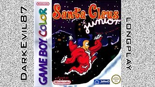Santa Claus Junior - DarkEvil87's Longplays - Full Longplay (Game Boy Color)