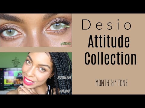 New! Desio Attitude Collection| No Limbal Ring! Part I
