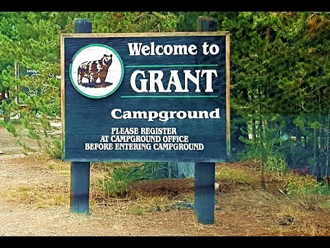 Grant Village Campground | Yellowstone National Pa by NSE Channel